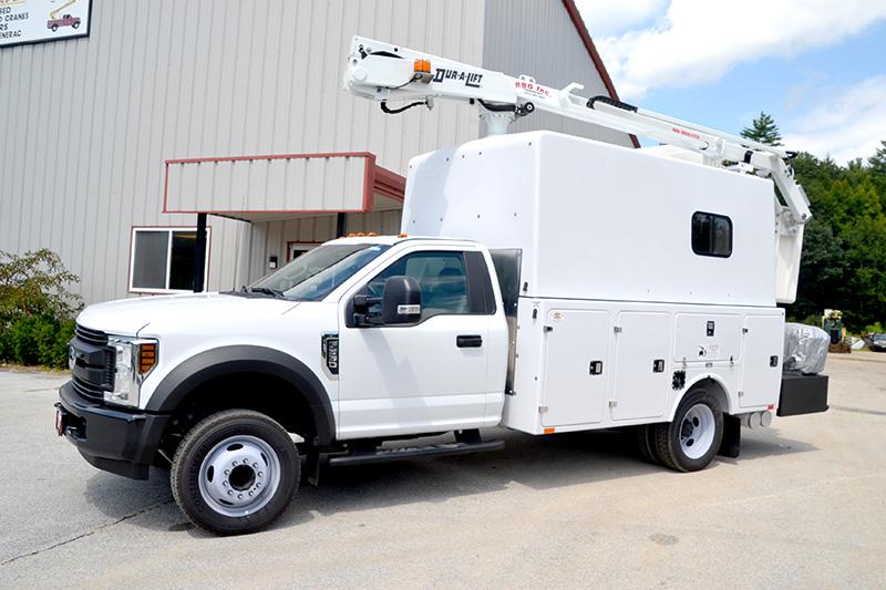 telecommunication bucket trucks